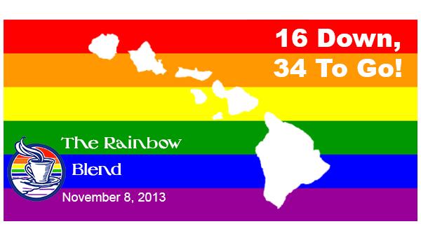 Rainbow Blend Nov 9