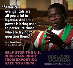 God Loves Uganda Quote