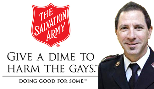 Salvation Army LGBT Hate
