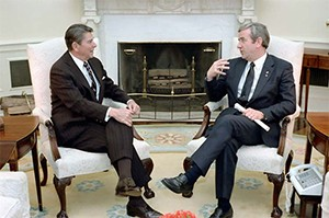 Reagan Falwell Oval Office